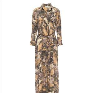 L'Agence Cameron Print silk crepe de chine dress